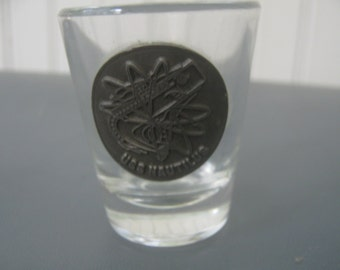 Vintage USS Nautilus Submarine Shot Liquor Glass Souvenir