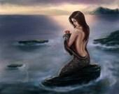 Selkie 'Remember Me' Mermaid Art Print