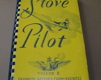 1958 Stove Pilot Recipe Book Maxwell AFB Montgomery Alabama
