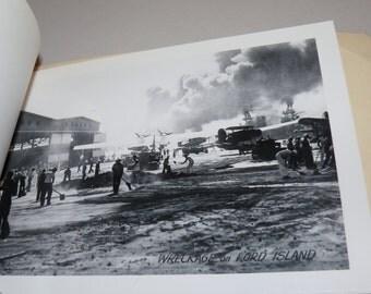 Vintage Military Navy WW2 Souvenir Pearl Harbor Cruise Photo Booklet