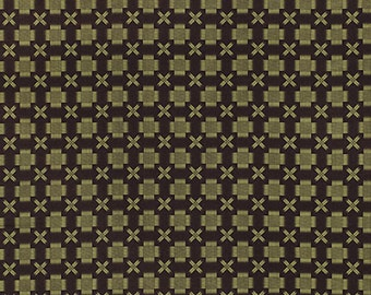Free Spirit Fabric Denyse Schmidt Ansonia - Stitch - Mossy PWDS066 BTY