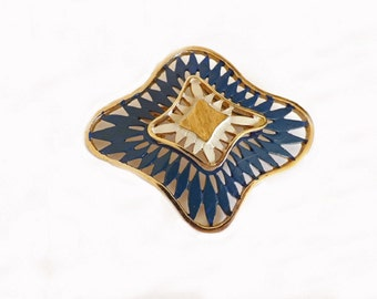 Vintage Brooch, Blue Brooch, Designer Signed Costume Jewelry, Traditions Brooch, Jewelry Accessories, Blue Jewelry, Fashion Jewelry