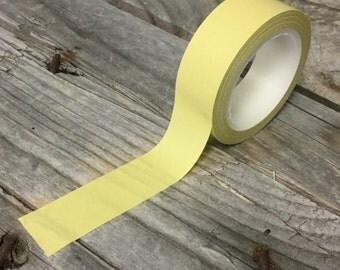 Washi Tape - 15mm - Solid Green Khaki - Deco Paper Tape No. 36