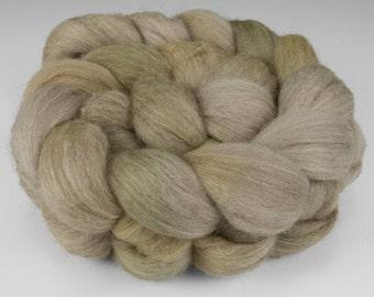 Yak Silk Merino Top, Handpainted, 2 oz., Beargrass