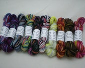 Mini Skeins - Knit Picks Stroll Hand Paints New Colors 5 g set of 10