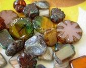 Czech Picasso Beads, Assorted Beads, Below Par Lot #5