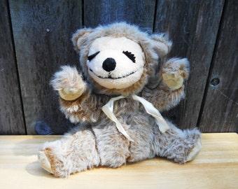 Stuffed Bear or Monkey Knickerbocker 1970s plush vintage