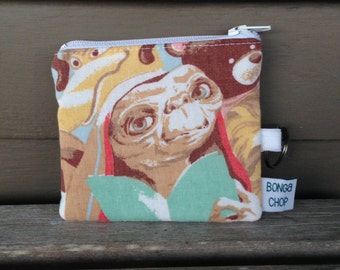E.T. Mini Wallet with ID Holder Recycled