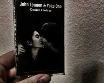 John Lennon and Yoko Ono Double Fantasy Cassette Tape