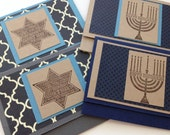 Hanukkah gift card holders, holiday gift card holders, Gift card holder, Money holder - Listing for ONE