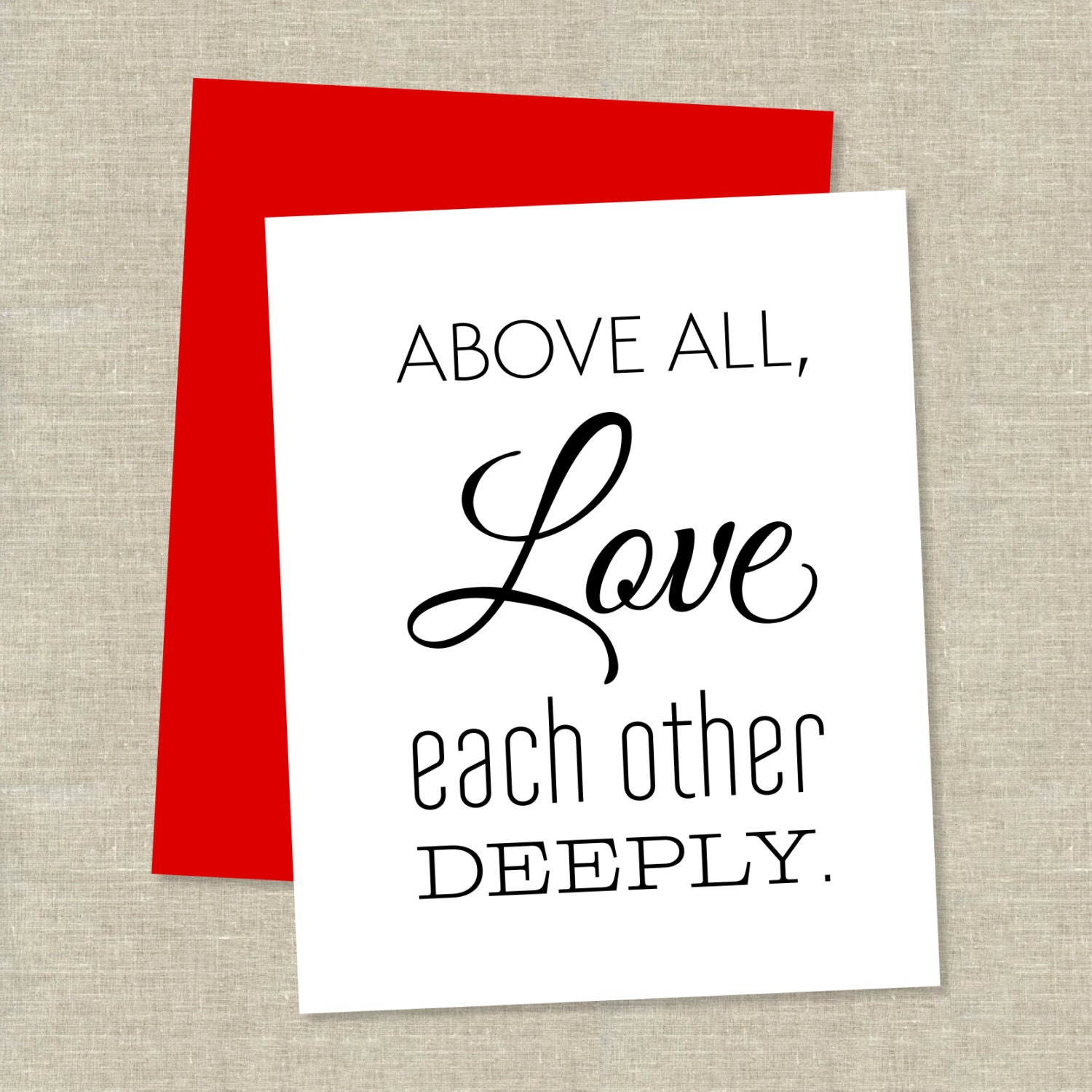 Love Each Other Bible: Chandeliers & Pendant Lights