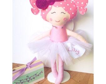 Rag doll Fairy Dolly Custom Handmade Glitter Fairy Doll CE marked Perfect for playtime