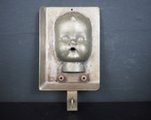 Vintage Baby Doll Head Industrial Mold