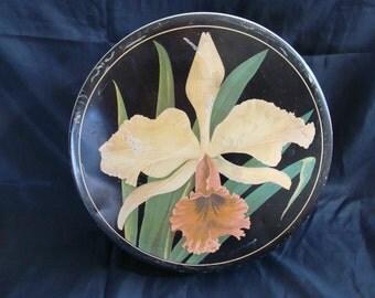 Vintage Tin ~ Sewing ~ Keepsake ~ Trinket ~ Jewelry Box ~ Cookies ~ Floral