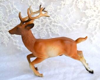 Vintage Running Deer - Plastic Christmas Decoration - Hong Kong