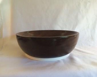 Vintage Hand Turned Wood Bowl