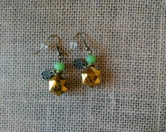Gold brilliance Earrings