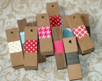 Kraft Tags ... 500 Chipboard Tags Price Tags Hang Tags Product Labels Merchandise Tags Seller Supplies Bakers Twine Ties Bulk Quantity