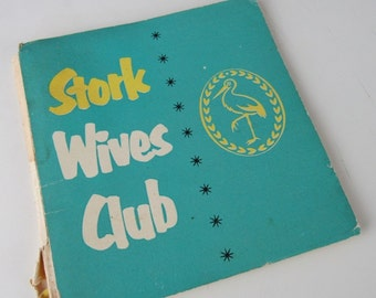1960s Vintage Stork Wives Club Recipe Booklets