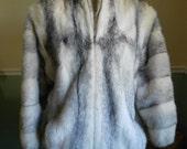 Cross Mink Jacket