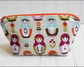Matrioshka Cosmetic Bag