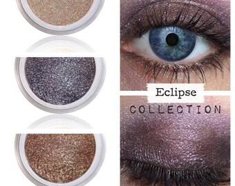 Twilight, Twilight Makeup, Make Up, Eyeshadow Kit, ECLIPSE, Vegan Eye Kit, Natural Eye Color, Mineral Eye Shadow, Mineral Eyeshadow, Shadows