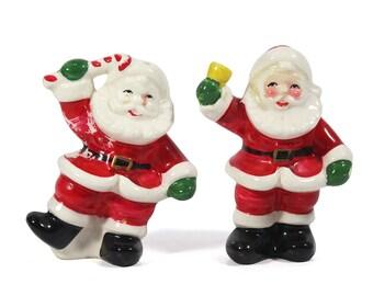 Vintage Santa Salt & Pepper Shakers