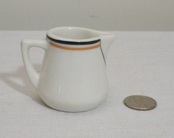 Vintage Restaurant Ware Single Serve Individual Creamer
