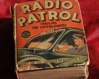 Big llittle book 1937 Radio Patrol