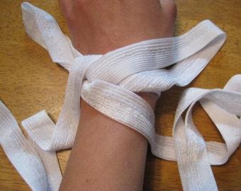 White Velvet Bondage Rope
