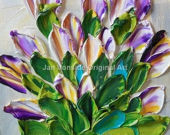 Original Painting , Oil painting , Tulips, original painting , fine art