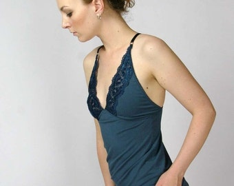 womens lingerie camisole - GEM sleepwear range - made to order