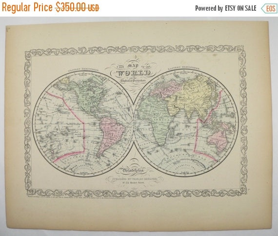 Eastern Hemisphere Map With Names Old World Map E...
