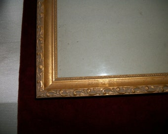 Ornate  Distressed  GOld  Picture Frame Shabby Chic Wedding on Sale