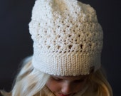 Crochet PATTERN Sifton Slouchy Crochet Slouchy Hat Pattern Includes Sizes Newborn to Ladies