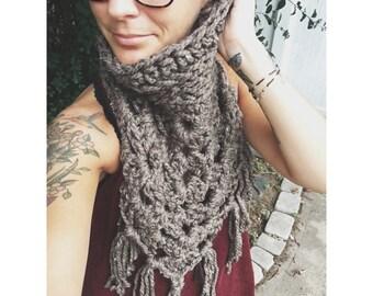 Bandana cowl, scarf,  cozy cowl accessory