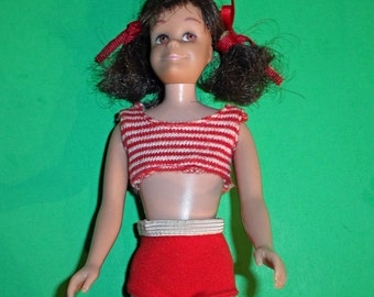 Vintage straight legged Skooter Doll--good Cond--Hard Find-- 20-70% off SALE throughout our Shop