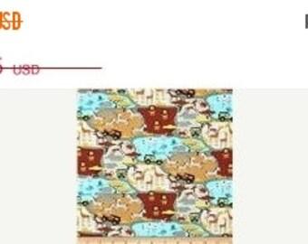 African Safari Mini Print Fabrics--HARD Find