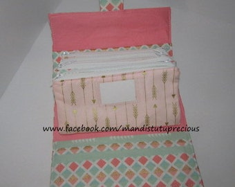 Cash Budget Wallet - Budgeting System - Money Envelope Wallet - Cash System -  Cash Envelope - Budgeting Envelope Wallet - Made To Order