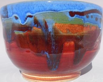 Blue Red Orange Bowl II