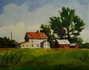 Constance Prewitt's Farm House