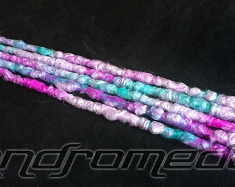 """5SE Crocheted Dreadlock Extensions -- """"Sweet Tooth"""" -- Free Shipping!"""