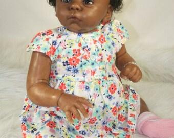 AA/Ethnic Reborn Baby Girl ~ HARLOW ~ LE 588/2000