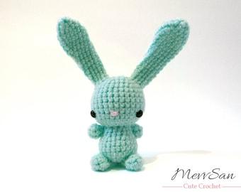 Crochet PATTERN PDF - Amigurumi Bunny Rabbit - amigurumi crochet bunny rabbit pattern, crochet rabbit softie, Easter rabbit, jackrabbit hare