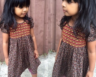Little Smocked Dress