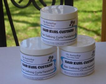 Hair Kurl Custard