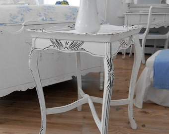 table white shabby chic painted furniture