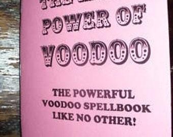 The MAGICK POWER Of VOODOO Book