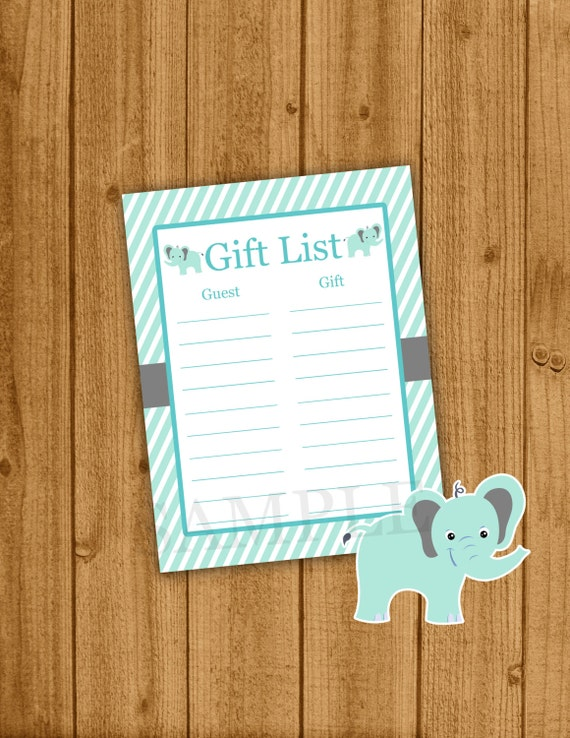 elephant baby shower gift list boy blue baby shower elephant baby