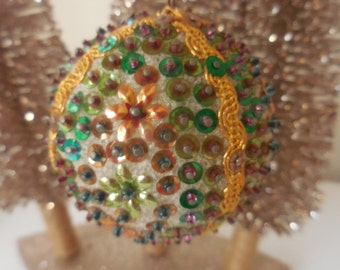 Beaded Pin Ornament